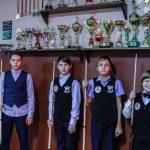ученики школы бильярда