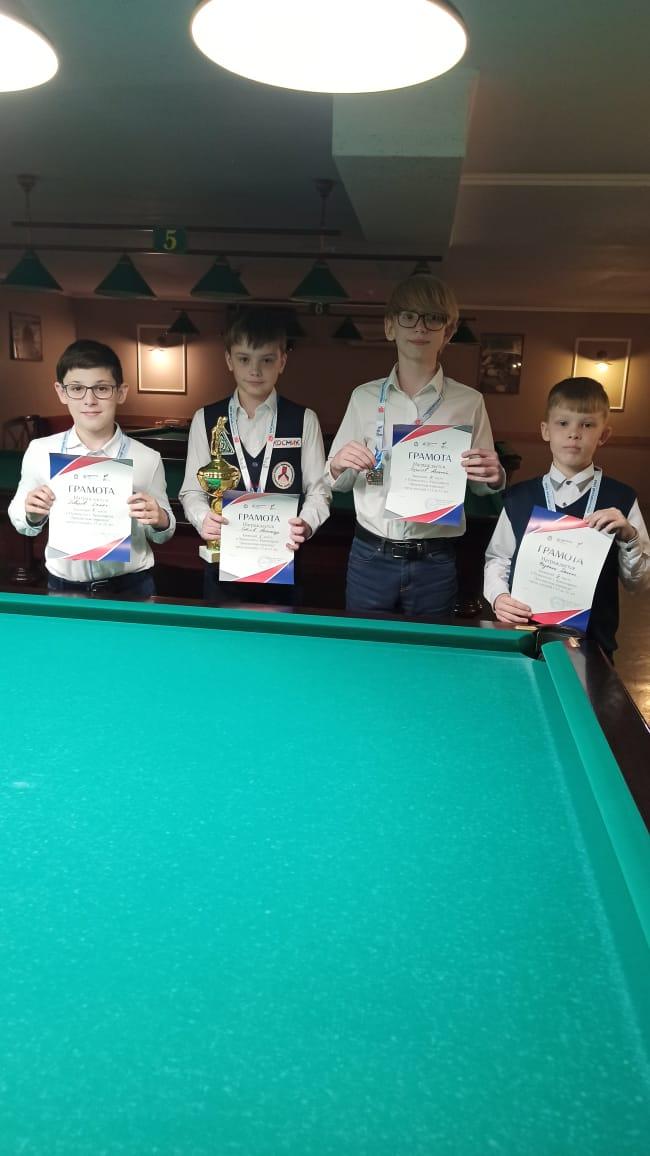 мальчики до 13 лет призеры турнира